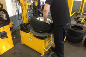 Blackpool Tyre Change